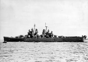 USS Boston CA-69 - Mar 44